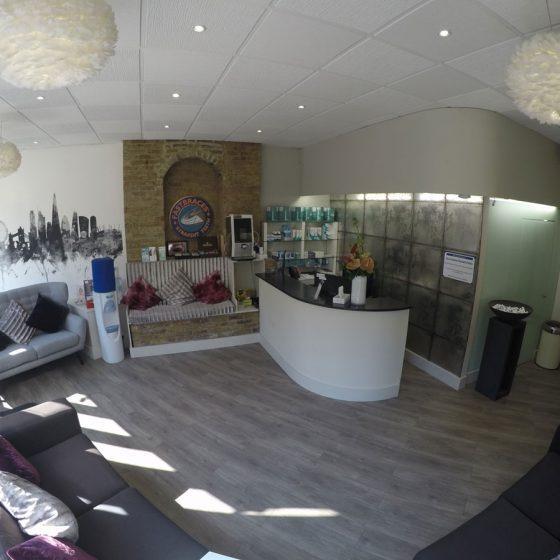 Blythe Road Dental reception