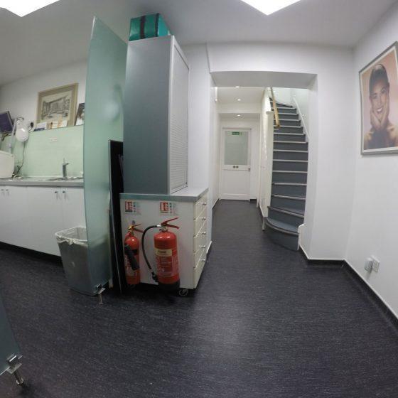 Interior at Blythe Road Dental Practice